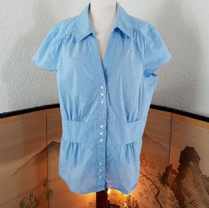 Ann Taylor fitted blouse size 16